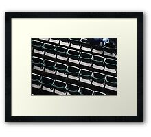 Seating... Framed Print