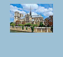 Notre Dame de Paris  Womens Fitted T-Shirt