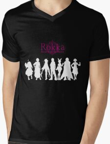 Rokka no Yuusha (White Edition) Mens V-Neck T-Shirt