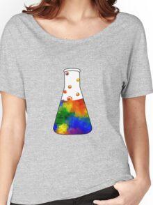 Rainbow Erlenmeyer Women's Relaxed Fit T-Shirt