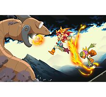 Crono Fight Photographic Print
