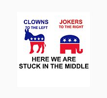 CLOWNS ON THE LIFE - JOKERS ON THE RIGHT Unisex T-Shirt