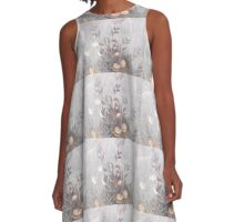 Flowers of Italy A-Line Dress