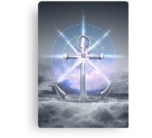 Life's Roughest Storms • Refuse To Sink  Canvas Print