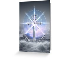 Life's Roughest Storms • Refuse To Sink  Greeting Card