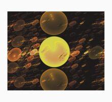 Copper Bubbles One Piece - Long Sleeve