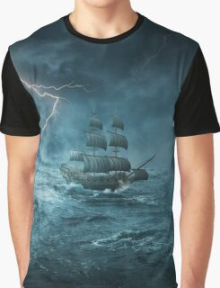 ghost ship III Graphic T-Shirt