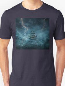 ghost ship III Unisex T-Shirt