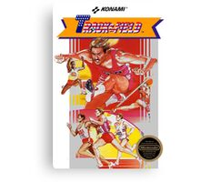 NES Track and Field  Canvas Print