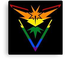 Team Instinct: Gay Pride Canvas Print