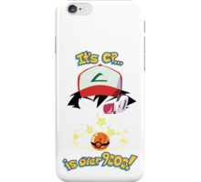 Its CP is over 9000! iPhone Case/Skin