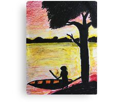 One Day At The Lake Canvas Print