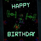 Player One (Birthday card) by SixPixeldesign