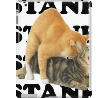 STANK CAT hoot SWAGGIN hoot SHIRT AIGHT iPad Case/Skin