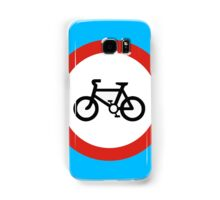 Cycling forbidden Samsung Galaxy Case/Skin