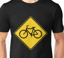 Bicycle Crossing Unisex T-Shirt