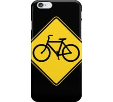 Bicycle Crossing iPhone Case/Skin