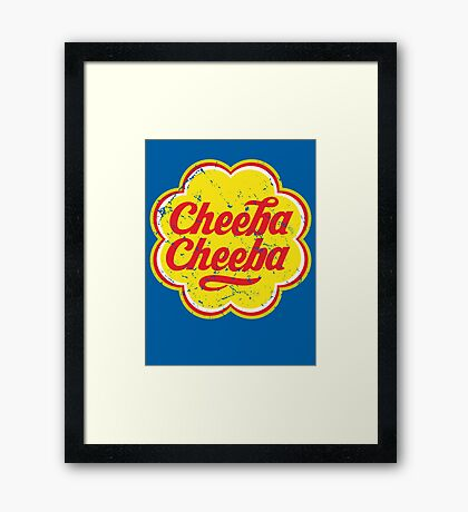 Cheeba Cheeba Framed Print
