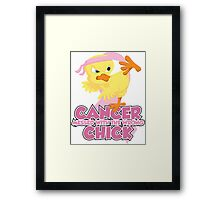 Breast Cancer Messed With The Wrong Chick Framed Print