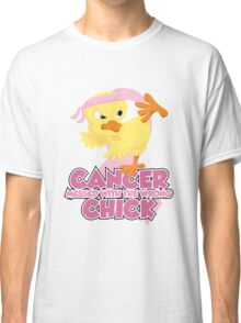 Breast Cancer Messed With The Wrong Chick Classic T-Shirt
