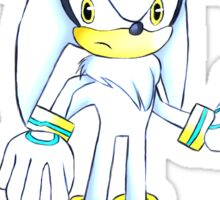 Sonic Silver The Hedgehog Sticker Sticker