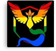 Team Mystic: Gay Pride Canvas Print