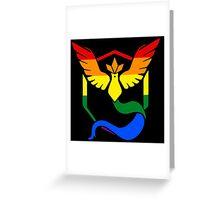 Team Mystic: Gay Pride Greeting Card
