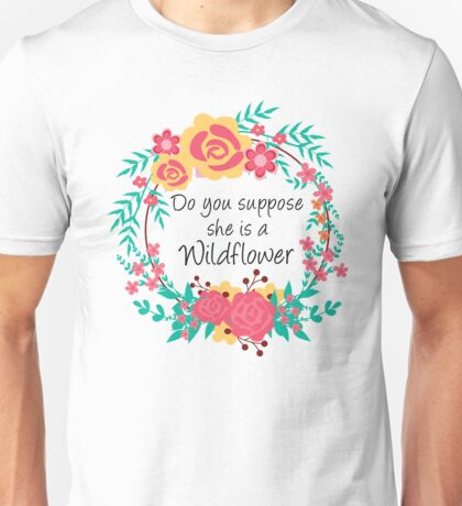Alice Wildflower Unisex T-Shirt