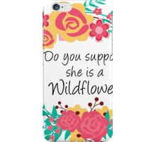Alice Wildflower iPhone Case/Skin