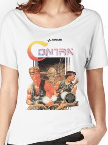 NES Contra Cover (Transparent)  Women's Relaxed Fit T-Shirt
