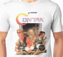 NES Contra Cover (Transparent)  Unisex T-Shirt