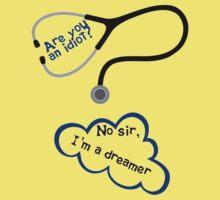 Scrubs - I'm a dreamer Kids Clothes