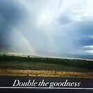 Double rainbows  by Rebecca Hessey