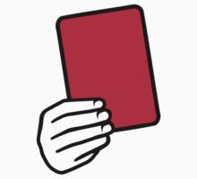 Referee red card by Designzz