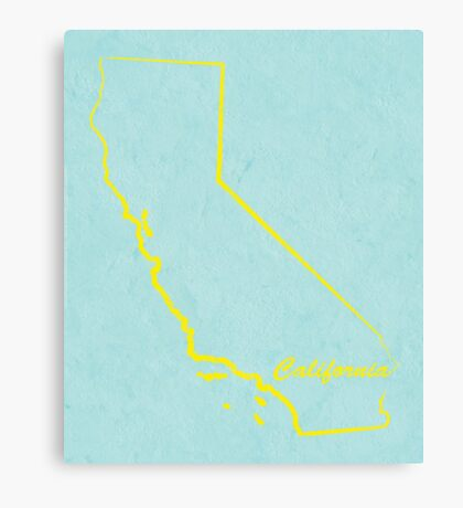 California Canvas Print