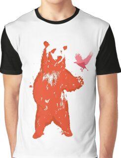 Bear & Bird Graphic T-Shirt