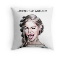 WEIRDNESS Throw Pillow