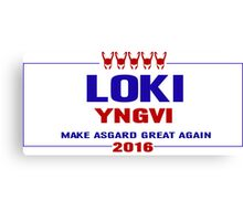 Make Asgard Great Again Canvas Print
