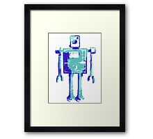 Robot Robot Framed Print