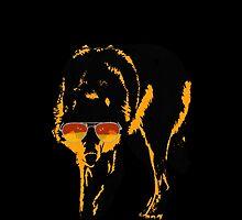 A Shady Wolf by jackfords