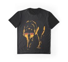 A Shady Wolf Graphic T-Shirt