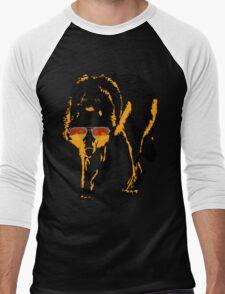 A Shady Wolf Men's Baseball ¾ T-Shirt