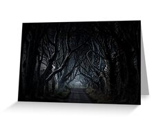 Kingsroad, The Dark Hedges Greeting Card