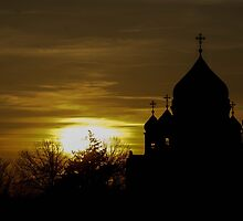Cathedral of Christ the Saviour Moscow by a-mikhael
