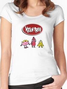 Wacky Delly! Women's Fitted Scoop T-Shirt