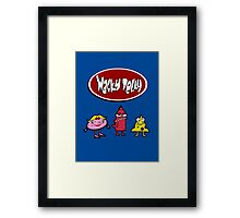 Wacky Delly! Framed Print