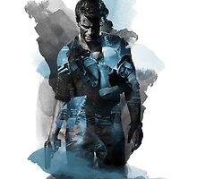 Uncharted 4 A Thief's End Apparel, Phone, iPad & Poster Design by Benikari47