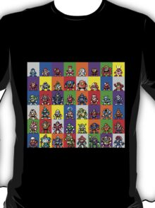 NES Robot Masters T-Shirt