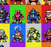 NES Robot Masters Sticker