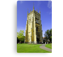 The Bell Tower, Evesham Abbey  Canvas Print